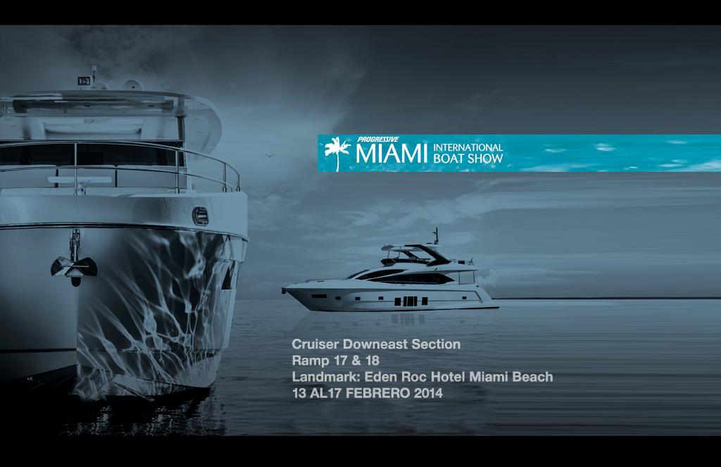 Presentes en Miami boat show