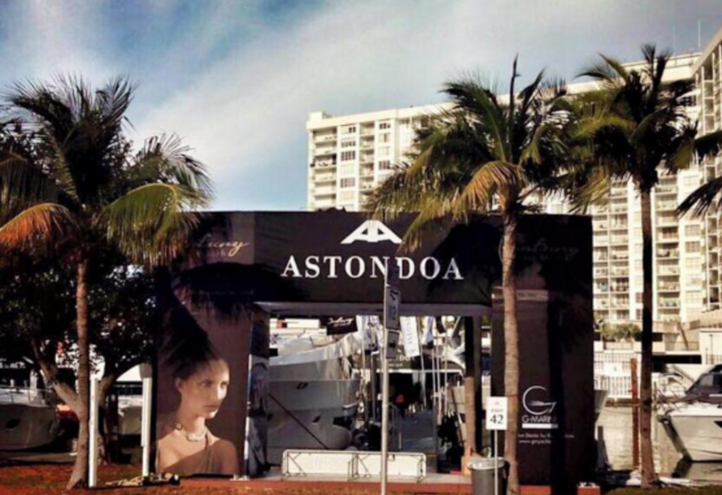 Astondoa en Yachts Miami Beach 2016