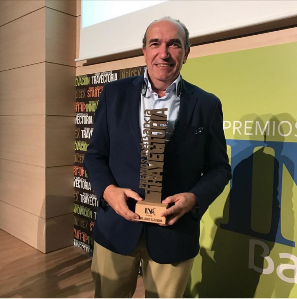 Astondoa receives the In4Bankia award