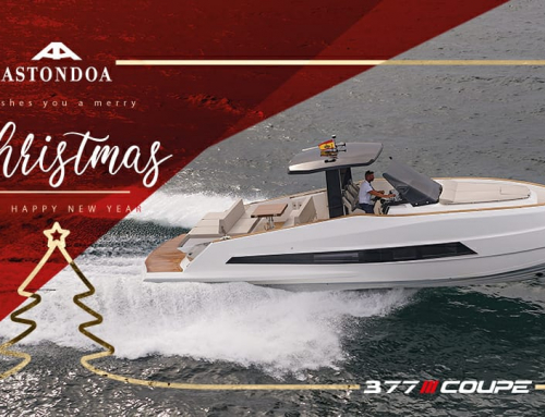 Astondoa 377 Coupe, the gift that lovers  of sport and adventure sailing wish to